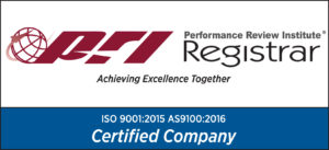 Performance Review Institute (PRI) Registrar Certified Company Certificate